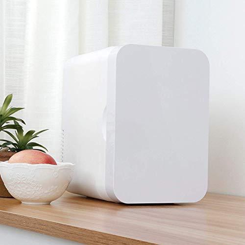 FGDSA Refrigerador para Automóvil, Refrigerador De Belleza, Pequeño Y Portátil, De Gran Capacidad, Utilizado para Refrigerar Y Calentar Cosméticos O Alimentos