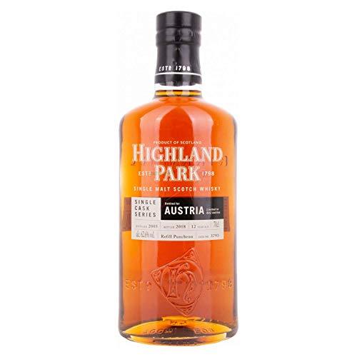 Highland Park 12 Years Old AUSTRIA EDITION Single Cask Series 2018 62,6%, Volume - 0.7 l im Leinensackerl