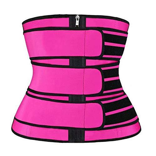 N-B Entrenador de cintura para las mujeres Cinturón de neopreno pérdida de peso Cincher cuerpo Shaper Control de barriga Correa de adelgazamiento sudor quema grasa cinturón