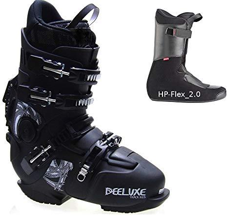 Deeluxe Track-325-Black Hp Flex 2.0 - Scarponi da snowboard, con stivaletti rigidi (26,5-41,5 EU)