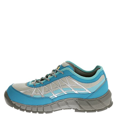 Caterpillar Women's Connexion Steel Toe Work Shoe,Blue Nylon/Mesh,US 8.5 W