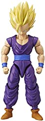 Gohan is the son of Goku and the hero who defeated Cell during the Cell Games. Gohan is a much gentler person and a family man. Gohan was trained to battle by Piccolo and Goku and only fights when necessary to protect those he loves BANDAI'S DRAGON S...