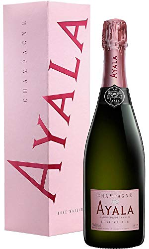 Champagne Ayala Rosé Majeur in Geschenkverpackung(1 x 0.75 l)