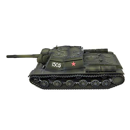 LHJCN Modello in plastica di carro Armato pressofuso in Scala 1/72, carro Armato Pesante SU-152 Unione Sovietica, Giocattoli e Regali Militari, 4,9 Pollici X 1,7 Pollici