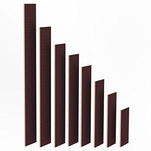 150mm Holz Bretter 24mm Siebdruck Brett-Zuschnitte beschichtet Längen 1m - 2m Birke Multiplex Sperrholz Brett Länge: 1480 mm