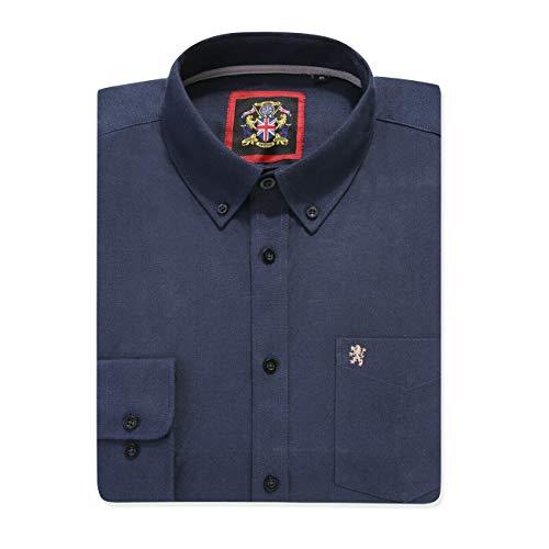 Camisa de manga larga para Hombres, Modelo English Oxford Cu