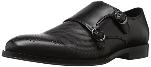 Steve Madden Men's Dauphen Oxford, Black Leather, 10.5 M US