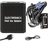 Electronicx Elec-M05-REN8 Adaptateur autoradio Compatible avec iPhone, iPod, iPad, AUX pour Renault 8 Pin Avantime Audio