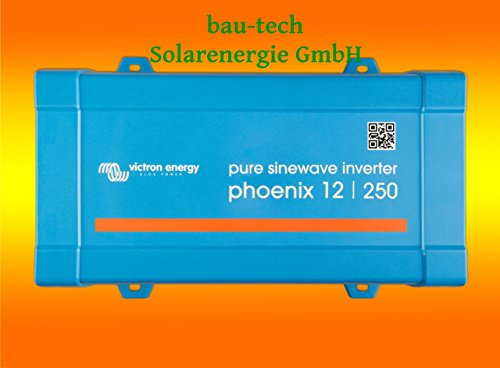 Spannungswandler Victron Phoenix 12V-375Watt VE.Direct reiner Sinus Inverter von bau-tech Solarenergie GmbH