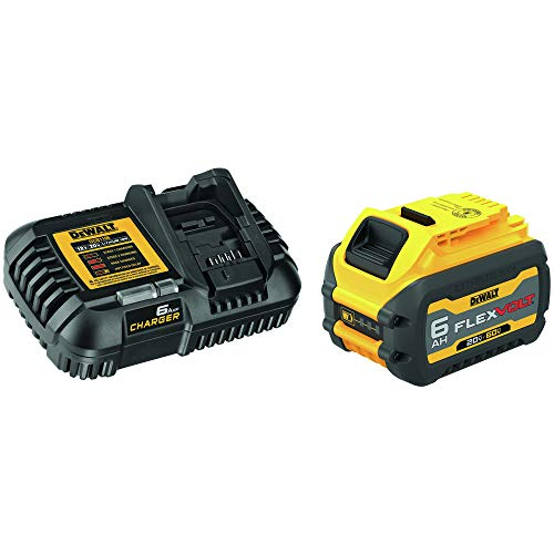 Dewalt DCB606C FLEXVOLT 20V/60V MAX Lithium-Ion Battery and Charger Starter Kit (6 Ah)