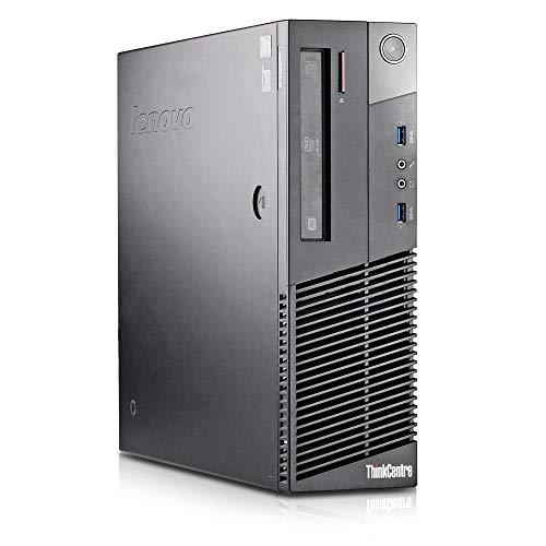 Lenovo ThinkCentre M93p SFF Business - Ordenador de sobremesa (i7 3,4 GHz, 8 GB, SSD de 256 GB, DVD-RW, HD Graphics 4600)