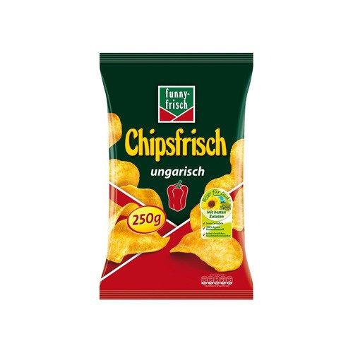 Funny-Frisch Chipsfrisch ungarisch, 12er Pack (12 x 250 g)