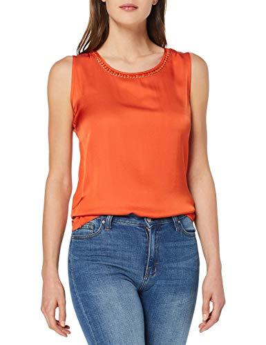 Preisvergleich Produktbild Gerry Weber Damen 170320-35130 Top,  Orange (Papaya 60652),  (Herstellergröße: 42)