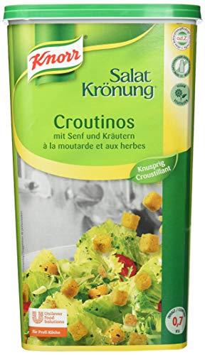 Knorr Salatkrönung Croutinos mit Senf und Kräutern, 1er Pack (1 x 700 g)