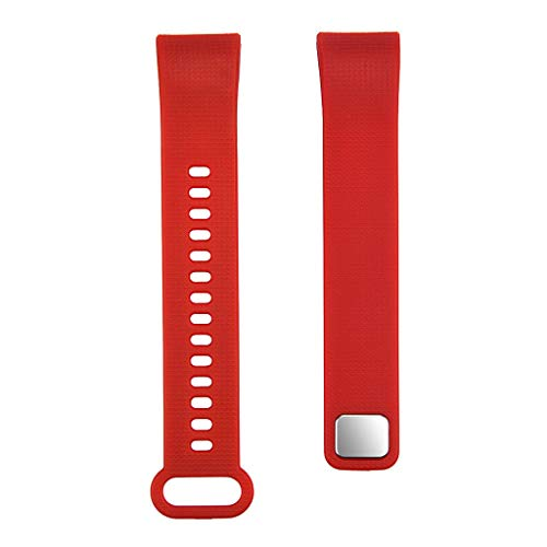 Cloodut Nuevo Smart Watch Exercise Fitness Monitor de frecuencia cardíaca, reloj de presión arterial + pulsera de diseño sencillo con un estilo muy bonito (RD)