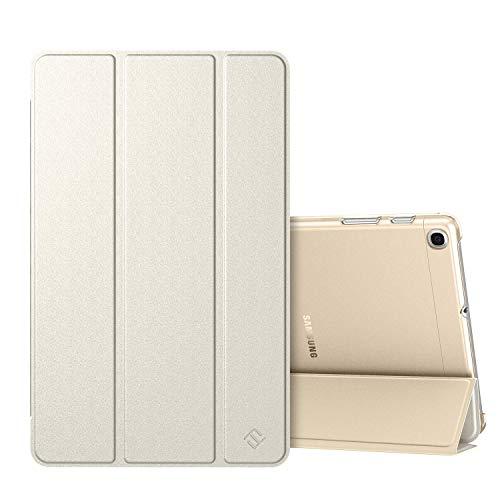 Fintie Hülle für Samsung Galaxy Tab A 10,1 SM-T510/T515 2019 - Superdünn Schutzhülle mit durchsichtiger Rückseite Abdeckung Cover für Samsung Galaxy Tab A 10.1 Zoll 2019 Tablet, Champagner Gold