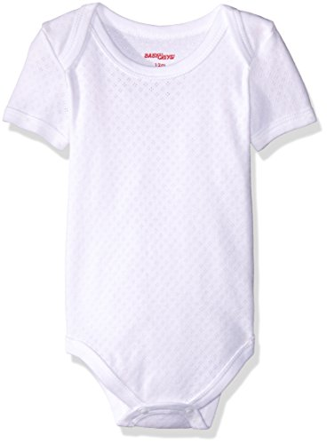 Baby Creysi Body para Bebé, color Blanco, 24 Meses