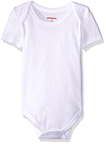 Baby Creysi Body para Bebé, color Blanco, 24 Meses