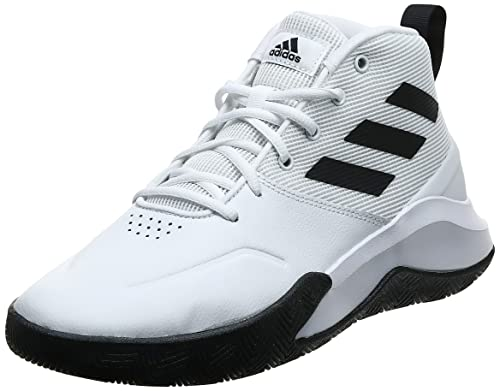 adidas Herren OwnTheGame Basketball Shoe, Cloud White/Core Black/Cloud White, 44 EU