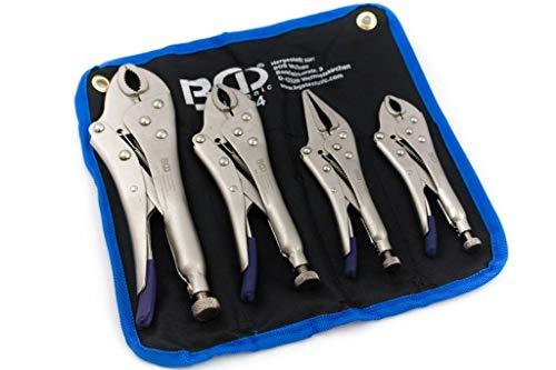BGS 494 | Juego de alicates grip | 4 piezas