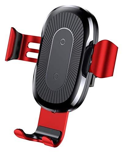 Tenedor de teléfono móvil multifuncional 360DEG;CARGADOR ROTATING WINESESS CARGER DE AIRE DE AIRE DE AIRE DE AIRE CENTRO DE LA CONSOLA DE LA CONSOLA APARTADA PARA APPLE X IPHONE 11 PROMAX soporte movi