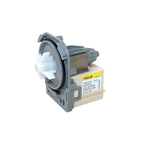 Electrolux 51-ZN-37A - Base de pompe de vidange à fixation par tournage et vissage