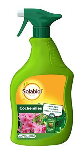 SOLABIOL SOCOCHPAL750 Cochenilles 750 ML Action rapide | Pour plantes d'intérieur et d'extérieur | Fabriqué en France,