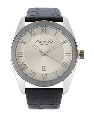 Kenneth Cole Reloj Analógico para Hombre de Cuarzo con Correa en Acero Inoxidable 10008135