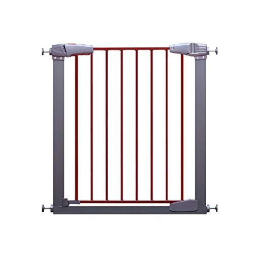 ZM HL MM Stop Stair Gate Incluant, Grille de Protection pour Enfants, 77-173 Cm INCL, sans perçage, Cuisine, Salle de séjour, Balcon