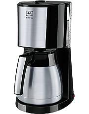 Melitta Enjoy Top Therm koffiezetapparaat met thermoskan, AromaSelector, roestvrij staal