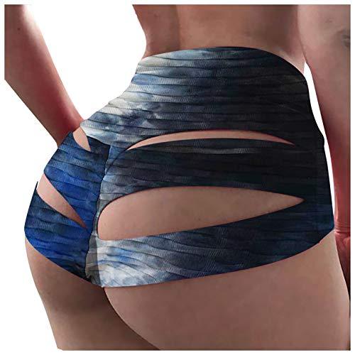 Sexy Entusiasmo Leggins Color Carne Pantalones Cortos De Entrenamiento para Mujer Booty Yoga Butt Cintura Alta Fruncido Leggings Cortos Scrunch Mono Deportivo Mujer