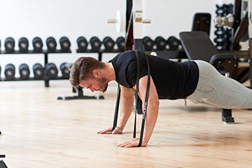 Premium Widerstandsbänder + Tasche und Übungsanleitung – Fitnessbänder - 4