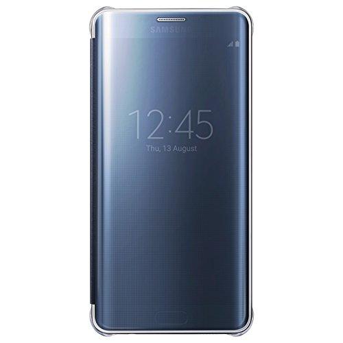 Samsung Clear View Cover für Galaxy S6 Edge Plus, schwarz (nicht für S6 Edge geeignet)