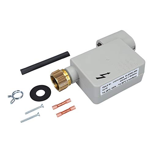DL-pro Magnetventil passend für Bosch Siemens Neff Constructa Balay AquastopVentil Reparatursatz 00091058/091058 für Geschirrspüler Spülmaschine