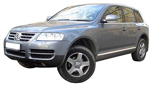 Déflecteurs pour VW Touareg, G + D 2003-2010, Avant et Arriere, 4 pcs, 5-Portes