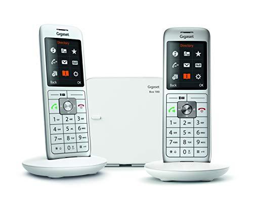 Gigaset CL660 Analog/DECT telephone Grigio Identificatore di chiamata
