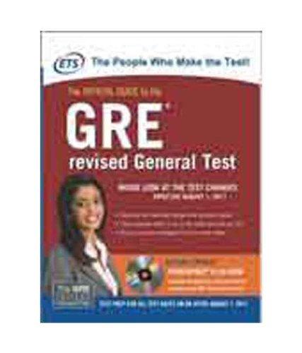 The Official Guide To The GRE Revised General Test (with CD)