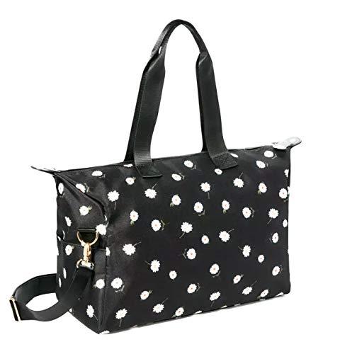 Alice + Olivia Daisy Print Duffel Bag