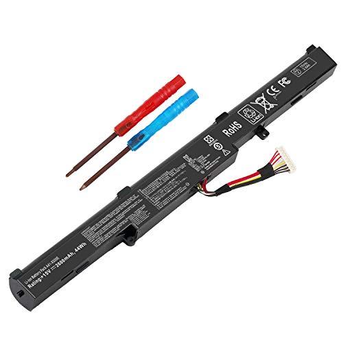 A41-X550E Battery for Asus X450 X450e X450j X450jf X550e X550z X550za X750j X750ja X751 X751m A450j A450jf A450e F751la F751ma F751mj R751 R752 F751 K751 P750L P750L Series