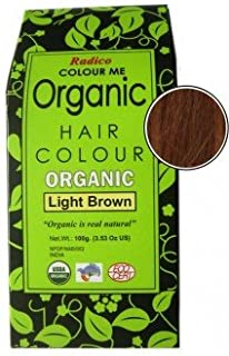 Radico Colour Me Organic (Light Brown)