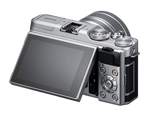 FUJIFILMミラーレス一眼カメラX-A5レンズキットシルバーX-A5LK-S