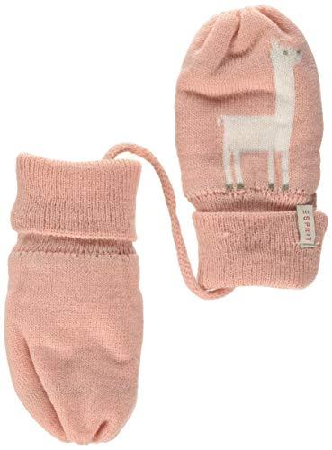 ESPRIT KIDS Baby-Mädchen RP9200109 KNIT MITTENS Handschuhe, Rosa (Light Blush 306), 62/68 (Herstellergröße: M)