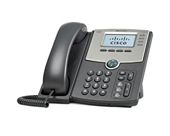Cisco SPA514G 4-Line IP Phone with 2-Port Gigabit Ethernet Switch PoE and LCD Display by Cisco