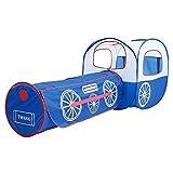 Kinder Zelt Cartoon Lokomotive Faltbare Spielhaus-Zelt for Kinder Spielen mit Tragetasche Tragbarer...