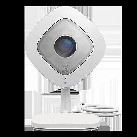Arlo Q 見守りカメラ ペット ネットワークカメラ 家族 屋内専用 簡単設置 高画質 スマホ 夜間撮影 1080p 防犯 監視 Alexa認定取得 VMC3040