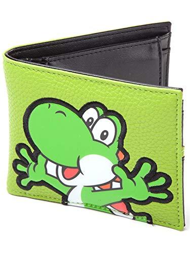 Nintendo - Yoshi PVC Geldbörse, 17cm, grün