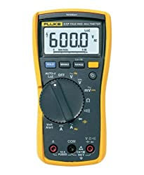 Fluke-117 [Best multimeter with capacitance measurement]
