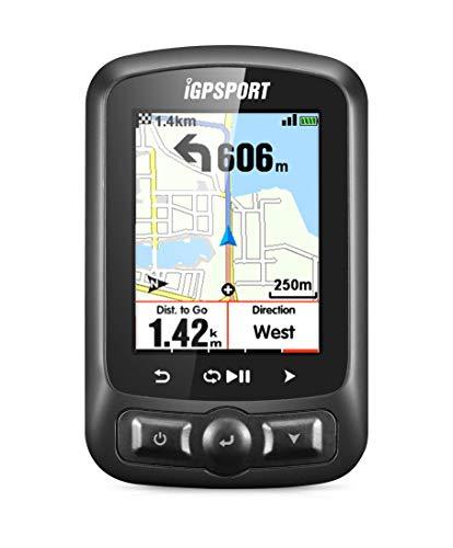 iGPSPORT iGS620 (versión española) - Ciclo computador Grabador Datos y rutas GPS GLONASS Beidou. Navegación y Seguimiento. Pantalla 2.2