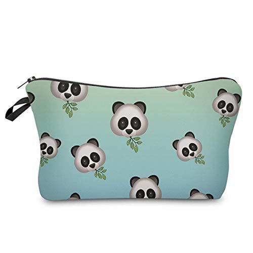 Sacs cosmétiques Mignons imprimés Panda Femmes Organisateur de Maquillage pour Les Voyages nécessaires 22 * 18 * 13.5 cm-50157_22 * 18 * 13.5 cm