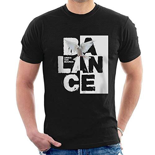 MAINTAIN Armin Van Buuren Balance T-Shirt Progressive Trance A73 Black S